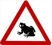 frog sign