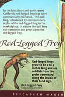 California Red-legged Frog sign