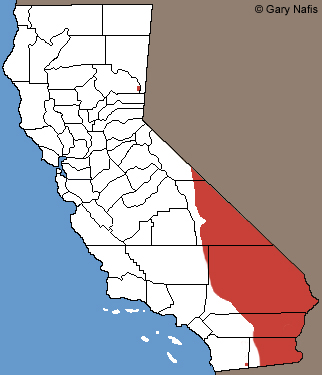 Variable Groundsnake California Range Map